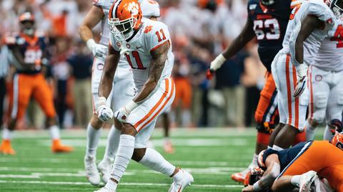 Detroit Lions — Isaiah Simmons, LB, Clemson (19)