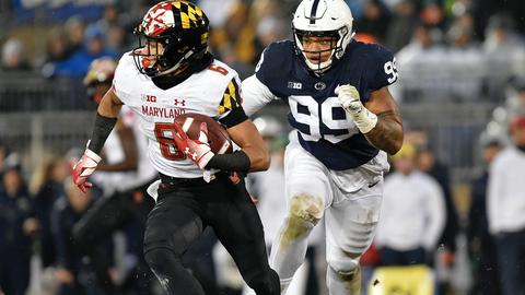 Tennessee Titans — Yetur Gross-Matos, DE, Penn State (23)