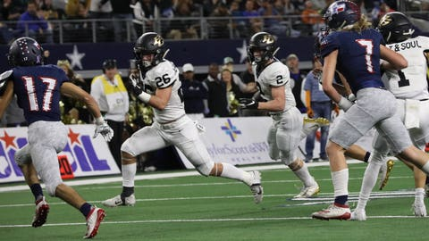 PHOTOS: 4A Division II State Title Game - Wimberley Texans vs. Pleasant Grove Hawks