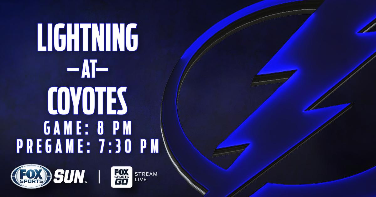 Tampa Bay Lightning at Arizona Coyotes game preview