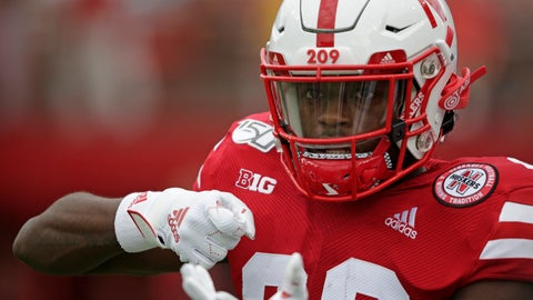 <p>               FILE - In this Aug. 31, 2019, file photo, Nebraska running back Maurice Washington (28) pretends to pull a trigger as he warms up before an NCAA college football game against South Alabama, in Lincoln, Neb. Maurice Washington, who faces child pornography charges in California and was disciplined for unrelated rules violations last season, has been dismissed from the Nebraska football team. The program announced Washington's departure Friday, Jan. 3, 2020, in a two-sentence statement, adding that he was expected to enter the NCAA transfer portal soon. (AP Photo/Nati Harnik, File)             </p>