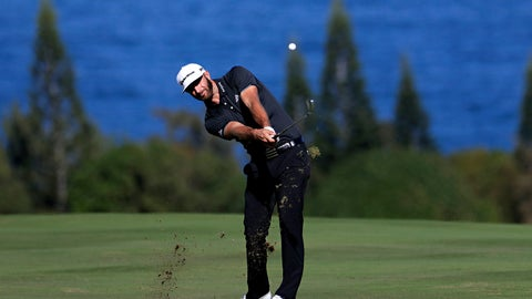 <p>               FILE - In this Jan. 7, 2017, file photo, Dustin Johnson hits for the fourth fairway during the third round of the Tournament of Champions golf event at Kapalua Plantation Course in Kapalua, Hawaii. The course has gone through a refinement to prepare for the winners-only event on the PGA Tour that starts Thursday, Jan. 2. (AP Photo/Matt York, File)             </p>