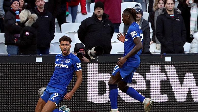Calvert-Lewin scores again as Everton draws with West Ham
