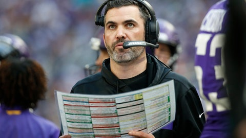 <p>               FILE - In this Sunday, Dec. 16, 2018, file photo, Minnesota Vikings interim offensive coordinator Kevin Stefanski watches from the sideline during the first half of an NFL football game against the Miami Dolphins in Minneapolis. With the Carolina Panthers and New York Giants completing coaching hires on Tuesday, Jan. 7, 2020, the Cleveland Browns job vacancy will be the last NFL opening filled. It's still unclear how quickly that will happen. The Browns, who fired Freddie Kitchens after just one season, are in the second week of interviews and have scheduled meetings this week with Patriots offensive coordinator Josh McDaniels and Vikings coordinator Kevin Stefanski.  (AP Photo/Bruce Kluckhohn, File)             </p>