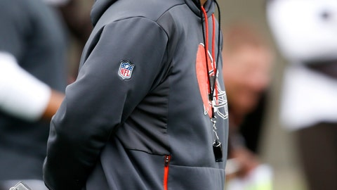 <p>               FILE - In this May 22, 2019, file photo, Cleveland Browns offensive coordinator Todd Monken watches a drill during an NFL football organized team activity session at the team's training facility in Berea, Ohio. Todd Monken, the former offensive coordinator for the Cleveland Browns and Tampa Bay Buccaneers, is Kirby Smart's choice to lead Georgia's offense. Monken was named on Friday, Jan. 17, 2020, to replace James Coley as the Bulldogs' offensive coordinator. Coley will remain on staff as assistant head coach.(AP Photo/Ron Schwane, File)             </p>