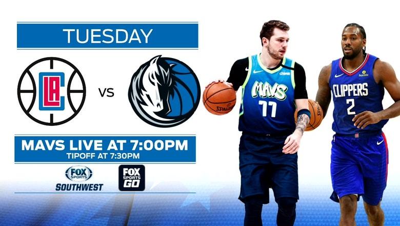 Look Ahead Clippers Vs Mavericks Mavs Live Fox Sports