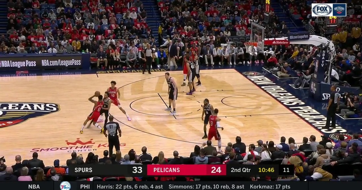 HIGHLIGHTS: Zion Williamson's 1st NBA Points