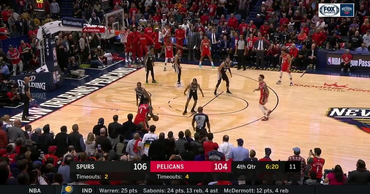 HIGHLIGHTS: Zion Williamson hits a 3 to give Pels a Brief Lead