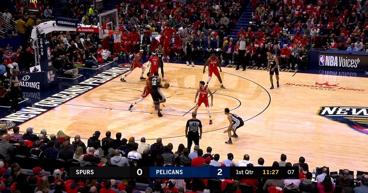 WATCH: Aldridge has 32 points, Spurs beat the Pelicans