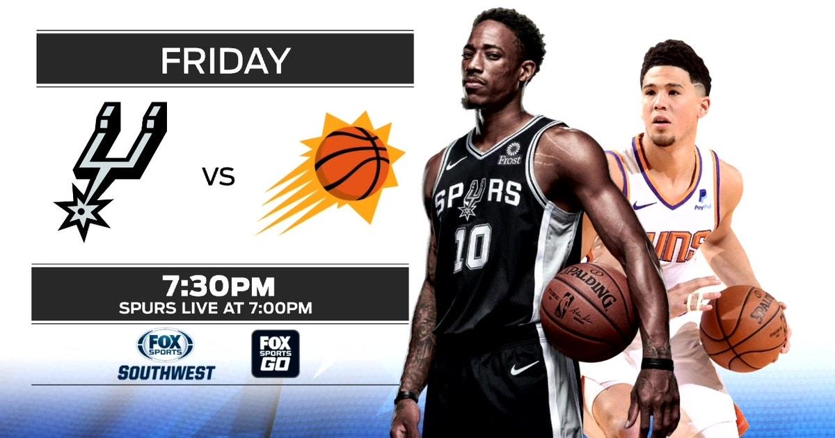 LOOK AHEAD: Suns vs. Spurs   Spurs Live