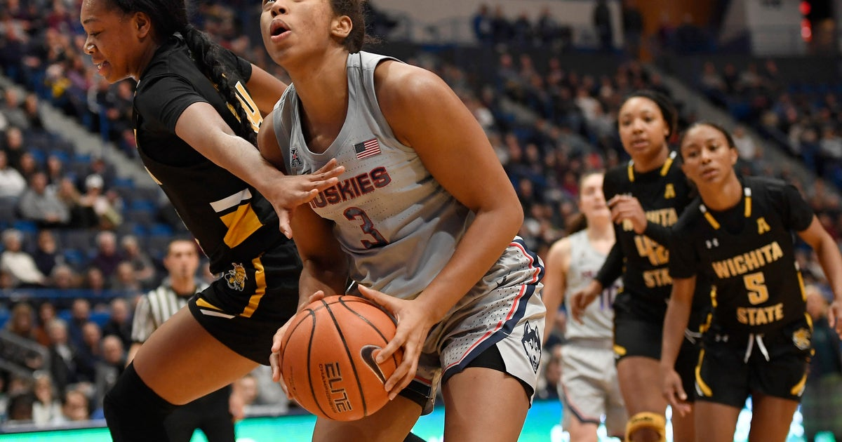 Dangerfield, Walker lead No. 1 UConn women past Wichita St.