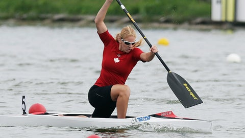 <p>               FILE - In this Sunday, Aug. 10, 2014 file photo, winner Laurence Vincent-Lapointe of Canada competes at the C1 women 200m final of the ICF Canoe Sprint World Championships 2014 in Moscow, Russia. A world champion canoeist won a doping case Monday, Jan. 27, 2020 after persuading a tribunal that her positive test was caused by bodily fluid contamination from her boyfriend. The International Canoe Federation ended its investigation into 11-time world champion Laurence Vincent Lapointe, who tested positive for a steroid-like substance in July. (AP Photo/Pavel Golovkin, file)             </p>