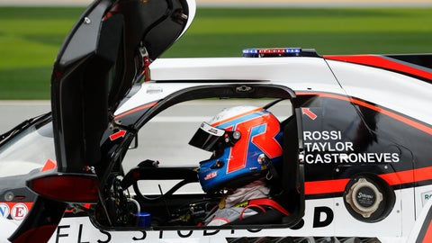 <p>               ACURA Team Penske driver Ricky Taylor waits to take the track in the pits during practice for the Rolex 24 hour auto race at the Daytona International Speedway, in Daytona Beach Fla., on Thursday, Jan. 23, 2020. (AP Photo/Reinhold Matay)             </p>