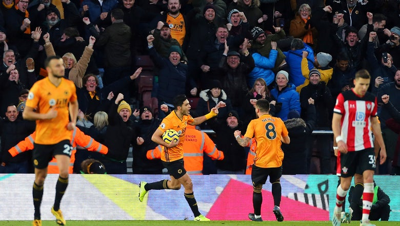 Jimenez double fires Wolves to comeback win at Southampton