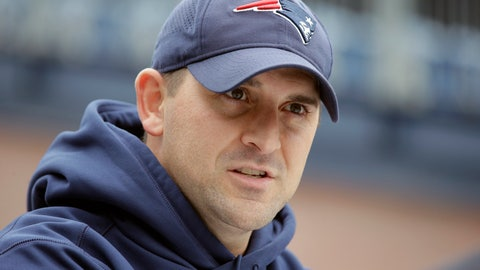 <p>               FILE - In this Nov. 1, 2018, file photo, New England Patriots special teams coach Joe Judge speaks with reporters before an NFL football practice in Foxborough, Mass. The New York Giants and Patriots assistant Joe Judge are working on a deal for him to become the team's head coach, a person familiar with the negotiations told The Associated Press The person spoke to the on condition of anonymity Tuesday, Jan. 7, 2020, because the deal is not done. (AP Photo/Steven Senne, File)             </p>