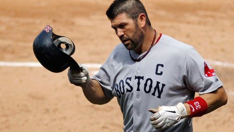 "<p>               FILE - In this June 30, 2011, file photo, Boston Red Sox's Jason Varitek trots back to the dugout after hitting a home run off Philadelphia Phillies relief pitcher Drew Carpenter during a baseball game in Philadelphia. Three days after the Red Sox fired manager Alex Cora for his involvement in a cheating scandal, supporters pleaded for Boston's front office to hire former catcher and team captain Jason Varitek as manager. at a town hall event Friday, Jan. 17, during the team's winter festival. Members of the team's leadership group were hit with ""Hire 'Tek!"" chants throughout the night. (AP Photo/Matt Slocum, File)             </p>"