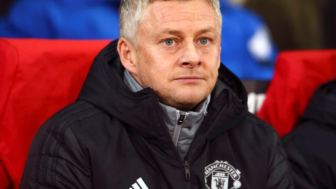 <p>               Manchester United manager Ole Gunnar Solskjaer looks on during the Europa League group L soccer match between Manchester United and AZ Alkmaar at Old Trafford in Manchester, England, Thursday, Dec. 12, 2019. (AP Photo/Dave Thompson)             </p>