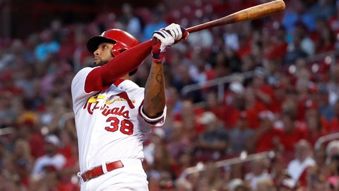 <p>               FILE - In this Aug. 28, 2018, file photo, St. Louis Cardinals' Jose Martinez watches his two-run home run during the first inning of a baseball game against the Pittsburgh Pirates in St. Louis. The Tampa Bay Rays have acquired Martinez from St. Louis in a trade that sends left-hander Matthew Liberatore, one of the club's top minor league pitching prospects, to the Cardinals. (AP Photo/Jeff Roberson)             </p>
