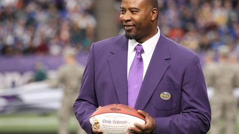 <p>               FILE - In this Dec. 15, 2013, file photo, former Minnesota Viking Chris Doleman acknowledges the crowd during a ceremony honoring the All Mall of America Field team during halftime of an NFL football game between the Vikings and the Philadelphia Eagles in Minneapolis. Hall of Fame defensive end Doleman, who became one of the NFL's most feared pass rushers during 15 seasons in the league, has died. He was 58. The Vikings and Pro Football Hall of Fame president and CEO David Baker offered their condolences in separate statements late Tuesday night, Jan. 29, 2020. (AP Photo/Andy King, File)             </p>