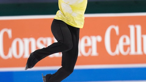 <p>               Nathan Chen performs his men's free skate program at the U.S. Figure Skating Championships, Sunday, Jan. 26, 2020, in Greensboro, N.C. (AP Photo/Lynn Hey)             </p>