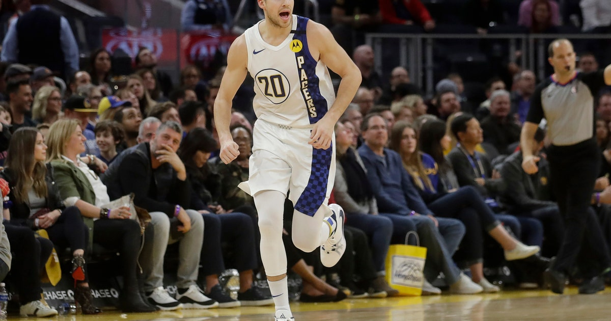 Warren scores 33 to help Pacers hold off Warriors 129-118 | FOX Sports