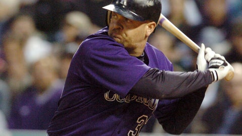 <p>               FILE - In this Wednesday, June 30, 2004 file photo, Colorado Rockies' Larry Walker gets ready to swing at a pitch from Milwaukee Brewers' Ben Sheets in the fourth inning of a baseball game in Denver. Derek Jeter came within one vote of being a unanimous pick for the Hall of Fame while Larry Walker also earned baseball's highest honor on Tuesday, Jan. 21, 2020 (AP Photo/David Zalubowski, File)             </p>