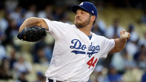 <p>               FILE - In this May 28, 2019, file photo, Los Angeles Dodgers starting pitcher Rich Hill throws against the New York Mets during the first inning of a baseball game in Los Angeles. Rich Hill can earn $9.5 million in performance bonuses in his contract with the Minnesota Twins and Homer Bailey can earn $1 million. Hill, a left-hander who turns 40 in March, was 4-1 with a 2.45 ERA in 13 starts last season for the Los Angeles Dodgers. (AP Photo/Chris Carlson, File)             </p>