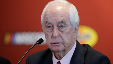 <p>               Indianapolis Motor Speedway owner Roger Penske speaks during a news conference at the Indianapolis Motor Speedway, Wednesday, Jan. 15, 2020, in Indianapolis. Penske announced that this year's NASCAR Xfinity Series race will be run on the track's road course for the first time. (AP Photo/Darron Cummings)             </p>