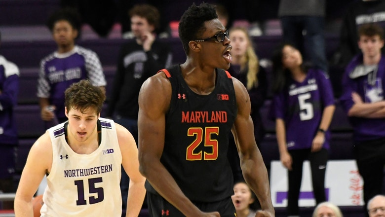 Jalen Smith's monster second half powers No. 17 Maryland's comeback win over Northwestern