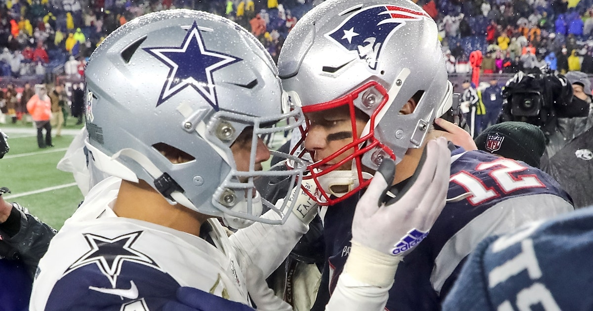 Skip Bayless: Tom Brady would give Cowboys slightly better chance of winning it all than Dak