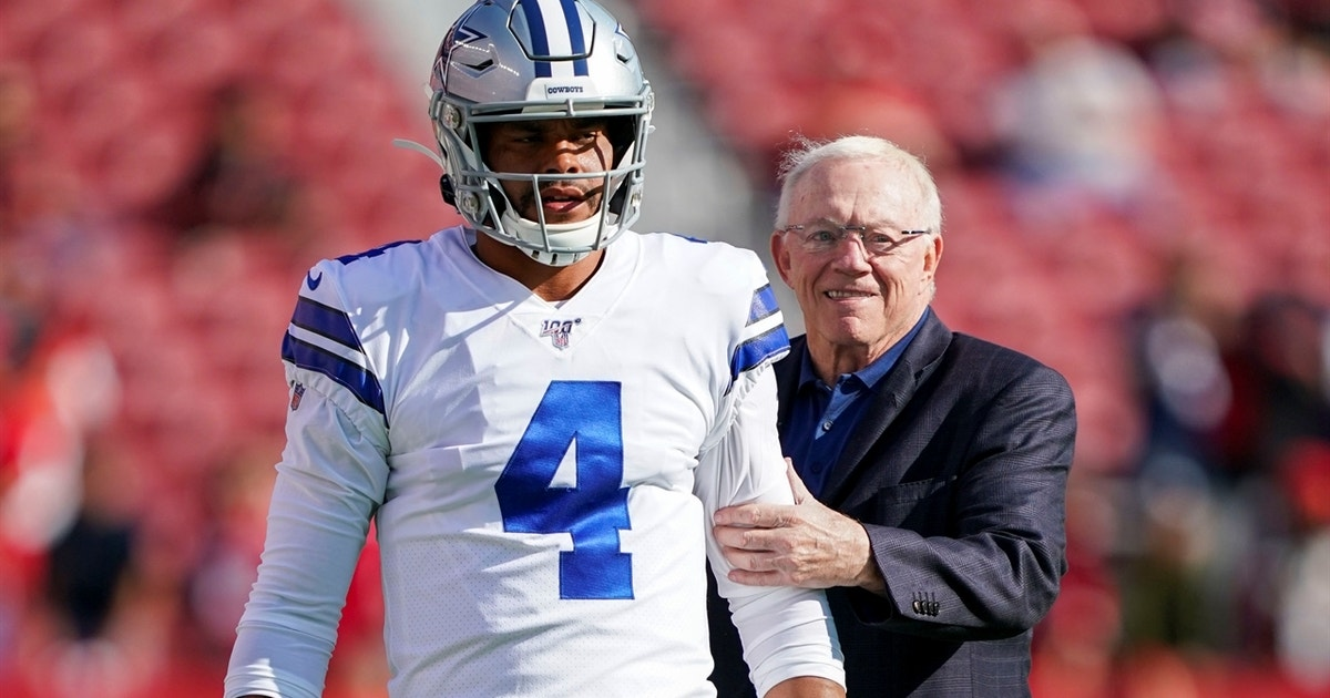 Skip Bayless thinks Jerry Jones made a mistake not extending Dak's contract during the season
