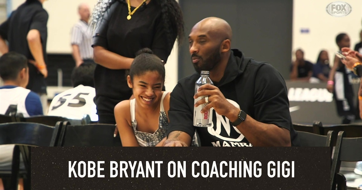 in April, Kobe Bryant reflected on coaching his daughter, Gigi: 'She's a good mix of me and her mama'