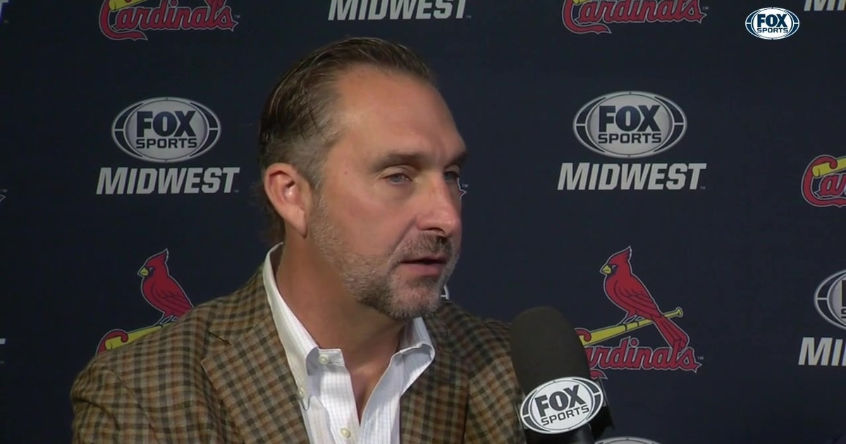 Mozeliak on Carlson: 'My hope is when he gets here, he's here to stay'