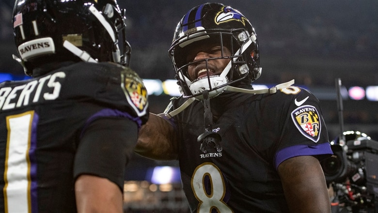 Shannon Sharpe trusts Lamar Jackson to lead the Ravens to a win over Tannehill and the Titans