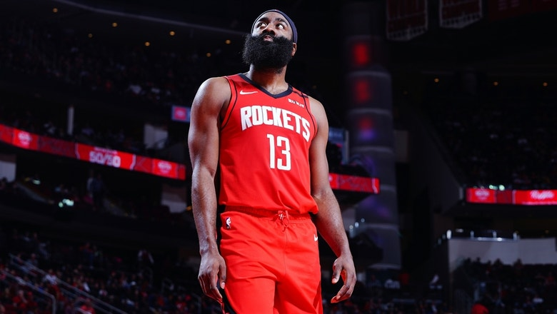 Skip Bayless and Shannon Sharpe react to James Harden's recent shooting slump