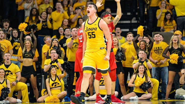 No. 19 Iowa holds off No. 24 Rutgers behind 28-point, 13-rebound game from Luka Garza
