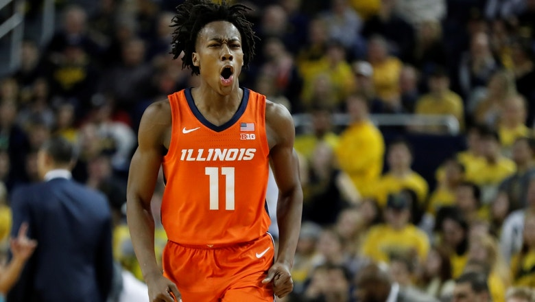 Ayo Dosunmu's career day lifts Illinois past Michigan in closing seconds