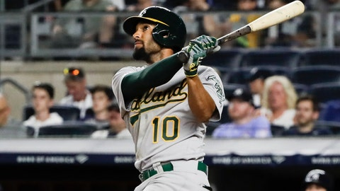 <p>               FILE - In this Aug. 30, 2019, file photo, Oakland Athletics' Marcus Semien watches his home run during the ninth inning of the team's baseball game against the New York Yankees in New York.  Following a career year, Semien was rewarded Friday, Jan. 10, with a $13 million, one-year contract that avoids arbitration and gives him a raise of $7.1 million. Semien played all 162 games for the first time in 2019 to help the A's win 97 games for a second straight season and the AL's top wild card. He finished third in MVP voting after putting up several personal bests: 33 homers and 92 RBIs while hitting .285. (AP Photo/Frank Franklin, File)             </p>