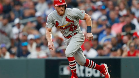 <p>               FILE - In this Oct. 3, 2019, file photo, St. Louis Cardinals' Harrison Bader (48) runs to second base during the fifth inning during Game 1 of a best-of-five National League Division Series against the Atlanta Braves in Atlanta. Bader is confident he will be the starting center fielder for the Cardinals when the season begins. (AP Photo/John Bazemore, File)             </p>