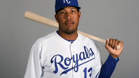 <p>               FILE - This is a 2019 file photo showing Salvador Perez of the Kansas City Royals baseball team. Royals star catcher Salvador Perez is about to become a U.S. citizen. Perez passed his citizenship exam earlier this month and will be be joined by Chief U.S. District Judge Beth Phillips on the Royals FanFest main stage Friday, Jan. 24, 2020, to take the oath of allegiance, the Royals said in a news release. Perez signed with the Royals as a 16-year-old prospect from Venezuela. (AP Photo/Charlie Riedel, File)             </p>