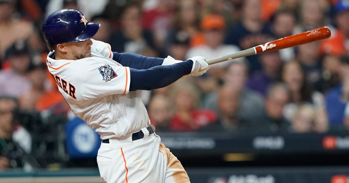 Astros avoid arbitration with Springer amid scandal | FOX Sports