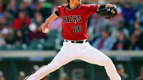 <p>               FILE - In this Feb. 28, 2018, file photo, Arizona Diamondbacks' Yoshihisa Hirano works against the Colorado Rockies during the fifth inning of a spring training baseball game in Scottsdale, Ariz. The Seattle Mariners added a veteran arm to their bullpen Thursday, Jan. 30, 2020, agreeing to a $1.6 million, one-year contract with Hirano. Hirano has spent the past two seasons with the Arizona Diamondbacks, appearing in 137 games with a 3.47 ERA. Hirano was very good in 2018 when he struck out 69 batters in 66 1/3 innings and allowed just 18 earned runs. He struggled last season while appearing in 62 games. He had a 4.75 ERA and issued 22 walks in 53 innings. (AP Photo/Ben Margot, File)             </p>