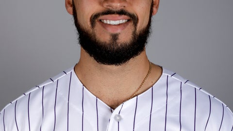 <p>               FILE In this Feb. 20, 2019, file photo, Colorado Rockies pitcher Justin Lawrence poses in uniform. Lawrence has been suspended for 80 games under the major league drug program following a positive test for a performance-enhancing substance. The 25-year-old right-hander tested positive for Dehydrochlormethyltestosterone (DHCMT), the commissioner's office said Friday, Jan. 17, 2020. (AP Photo/Chris Carlson, File)             </p>