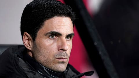 <p>               Arsenal manager Mikel Arteta looks on during the English FA Cup fourth round soccer match between AFC Bournemouth and Arsenal at Vitality Stadium, Bournemouth, England, Monday, Jan. 27, 2020. (John Walton/PA via AP)             </p>
