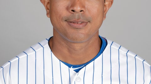 <p>               FILE - This is a 2019 photo showing Luis Rojas of the New York Mets baseball team. The New York Mets are finalizing a multiyear agreement with quality control coach Luis Rojas to make him the team's new manager, general manager Brodie Van Wagenen said Wednesday, Jan. 22, 2020. Rojas would replace Carlos Beltrán, who left the team last week before managing a single game as part of the fallout from the Houston Astros' sign-stealing scandal. (AP Photo/John Raoux, File)             </p>