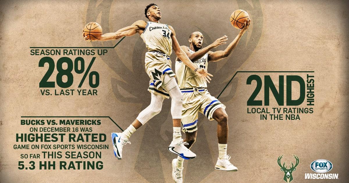 Milwaukee Bucks Tv Viewership Highest In Nearly 20 Years