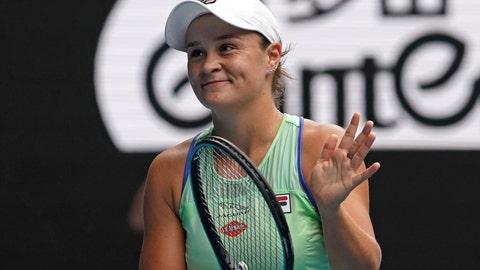 Australian Open: Ash Barty's French nemesis Kristina Mladenovic strikes again