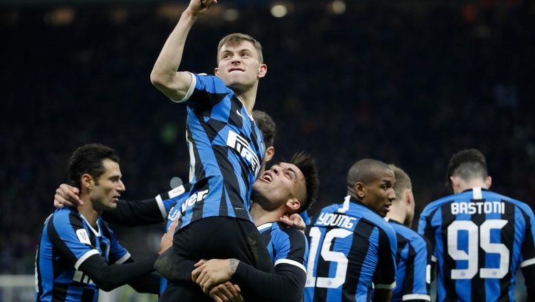 Inter beats Fiorentina 2-1 to reach Italian Cup semifinals