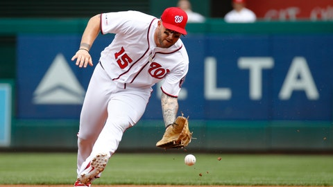 <p>               FILE  -  In this Sept. 2, 2019, file photo, Washington Nationals first baseman Matt Adams fields a ground ball during a baseball game against the New York Mets in Washington. Adams has agreed to a minor league contract with the Mets. (AP Photo/Patrick Semansky File)             </p>