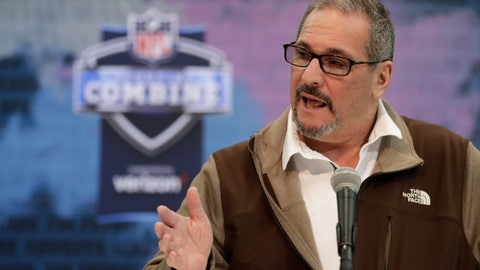 <p>               File-This Feb. 27, 2019, file photo shows New York Giants general manager Dave Gettleman speaking during a press conference at the NFL football scouting combine in Indianapolis. The Giants fired head coach Pat Shurmur on Monday, Dec. 30, 2019, just two years into a five-year contract, the Daily News has confirmed. But the Giants aren't making sweeping changes as Gettleman is being retained by co-owners John Mara and Steve Tisch. Gettleman is expected to meet with the media on Tuesday.  (AP Photo/Michael Conroy, File)             </p>